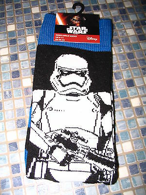 Disney Star Wars The Force Awakens Mens Socks Stormtrooper Chewbacca Size 6/11
