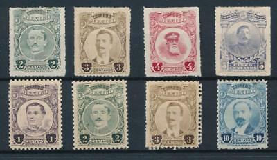 [38537] Mexico 1917/22 Good lot of Very Fine MH stamps