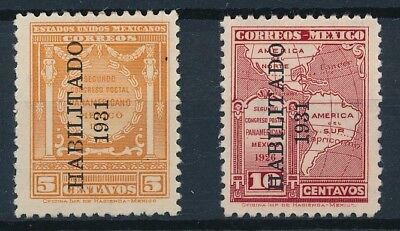 [38546] Mexico 1931 Two good stamps Very Fine MH