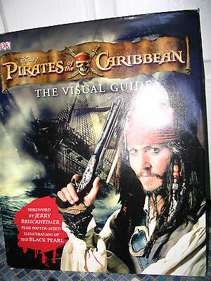 Disney Pirates Of The Caribbean Visual Guide Book Brand New  Very Rare