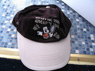 Disney Store Mickey Mouse Adventure Trail 1928 Cap Age 3 to 6 BRAND NEW