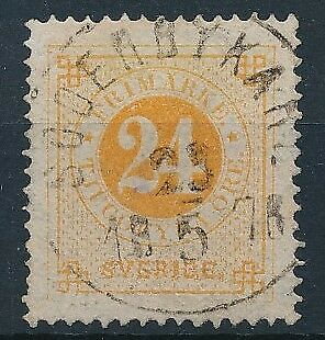[4074] Sweden 1872-85 good classic stamp very fine used with nice cancel