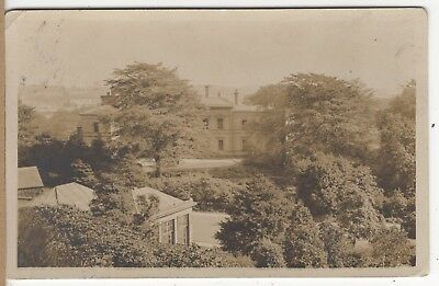 View Of The Phillips Park Hall Whitefield Manchester ? Old Photo Postcard
