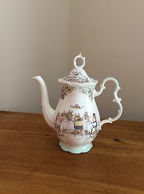 Brambly Hedge large Coffee Pot (1990) by Royal Doulton Excellent condition