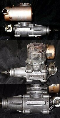 WEBRA SPEED 61 10 cc Model Aircraft Glowplug engine with rear induction