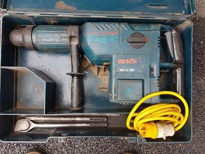 Bosch Gbh 11 De Professional Heavy Duty Hammer Breaker Drill With Point&chisels