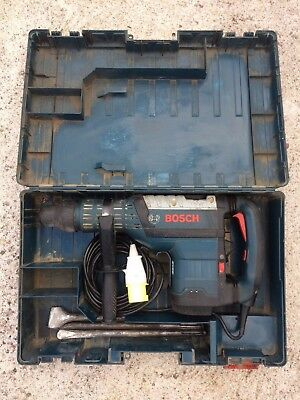 Bosch Gbh 8 45 Dv Professional Heavy Duty Sds Hammer Drill With Point&chisels
