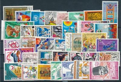 [G113719] Tunisia Good lot of Very Fine MNH stamps