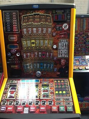 DEAL OR NO DEAL THE NEXT LEVEL £100 jackpot NOTE RECYCLER FITTED