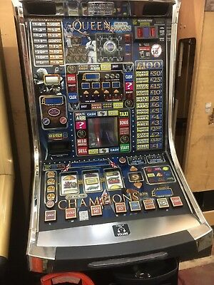 QUEEN WE ARE THE CHAMPIONS £100 jackpot NOTE RECYCLER FITTED