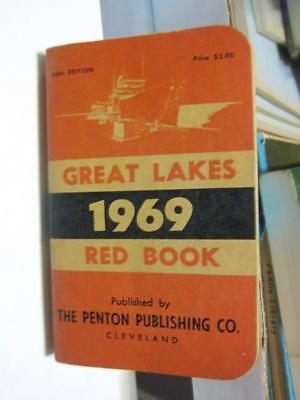 """Great Lakes """"RED BOOK"""" 1969"""