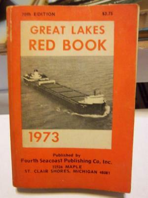 """Great Lakes """"RED BOOK"""" 1973"""