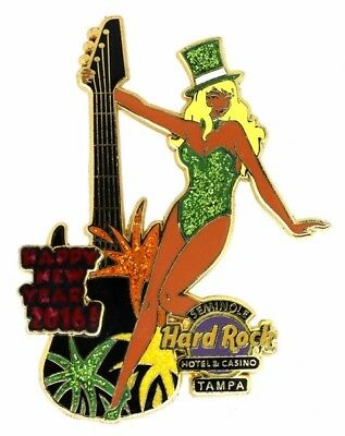 Hard Rock Cafe 2016 Tampa Hote New Years Eve Girls Pin