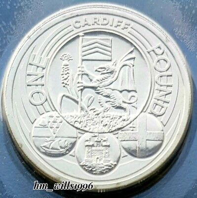 2011 One Pound £1 Cardiff Capital Cities BU In Plastic