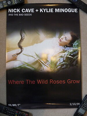 NICK CAVE + KYLIE MINOGUE Where The Wild Roses Grow Poster 70 cm x 50 cm