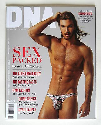 DNA magazine issue # 201 Australian gay men's fashion and style