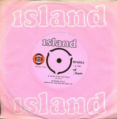 Jethro Tull  - 'a Song For Jeffrey'      -  Pink Island     1968