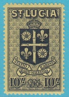 St. Lucia 125 Mint Hinged Og *   No Faults Extra  Fine !