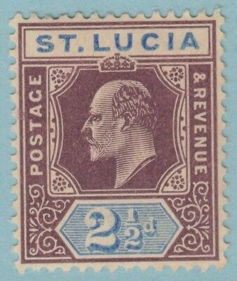 St. Lucia 52  Mint Hinged Og *   No Faults Extra  Fine !