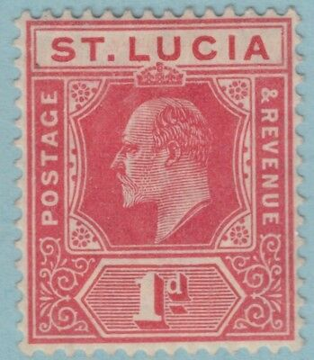 St. Lucia 58  Mint Hinged Og *   No Faults Extra  Fine !
