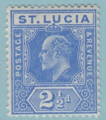 St. Lucia 59  Mint Hinged Og *   No Faults Extra  Fine !