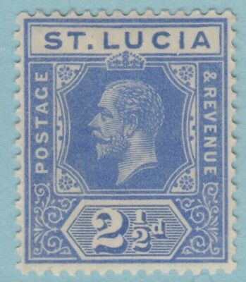 St. Lucia 67  Mint Hinged Og *   No Faults Extra  Fine !