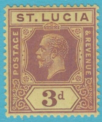 St. Lucia 84  Mint Hinged Og *   No Faults Extra  Fine !