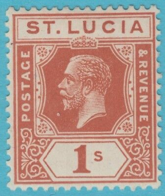 St. Lucia 87  Mint Hinged Og *   No Faults Extra  Fine !
