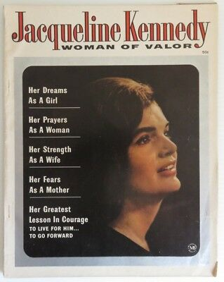 1964 Jacqueline Kennedy Woman Of Valor Magazine            (Inv14857)