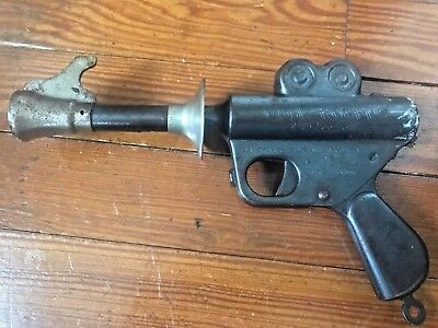 Old Vintage Daisy Buck Rogers 25th Century Space Ray Pop Gun 1930's Tin Toy