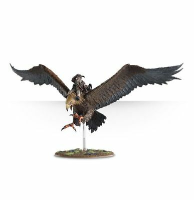 Games Workshop Citadel Lord of the Rings Hobbit Radagast Brown on Great Eagle