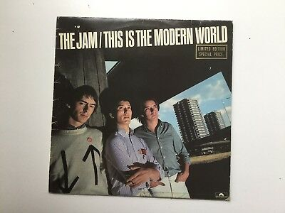 The Jam - This Is The Modern World LP 1977 2nd LP New Wave Punk Paul Weller