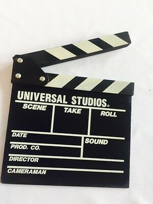 Clapper Board Universal Studious  Made by Hollywood Dream Factory Ohio.