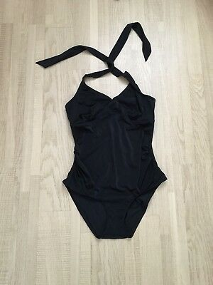 Black Halter neck Maternity Swimsuit Fits Size 10-12 ❤️
