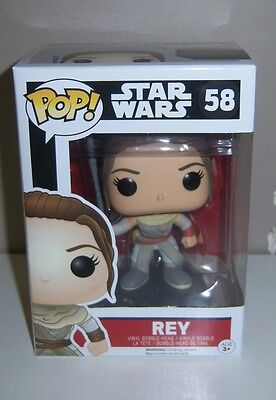 FUNKO POP Star Wars Rey #58 Vinyl Bobble-Head - NEW IN BOX