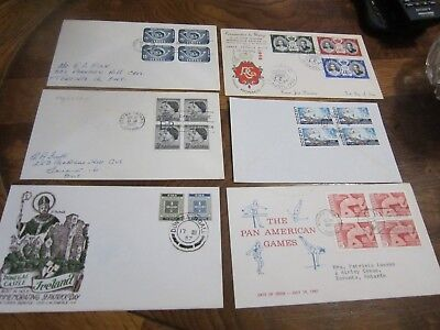 First Day Cover - Lot #4 - Canada, Monaco, Ireland, Greece and USA