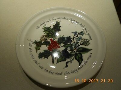 Portmeirion Holly And Ivy Dinner Plate - 10.25 Inch