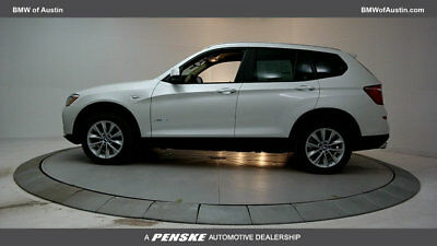 2017 BMW X3 sDrive28i Sports Activity Vehicle sDrive28i Sports Activity Vehicle 4 dr Automatic Gasoline 2.0L 4 Cyl MINERAL WHT