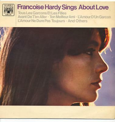 "Francoise Hardy - Sings About Love - 12"" Vinyl Lp"