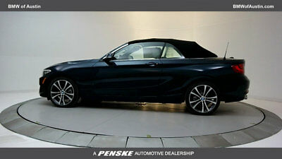 2017 BMW 2 Series 230i 230i 2 Series 2 dr Convertible Automatic Gasoline 2.0L 4 Cyl Midnight Blue Metal
