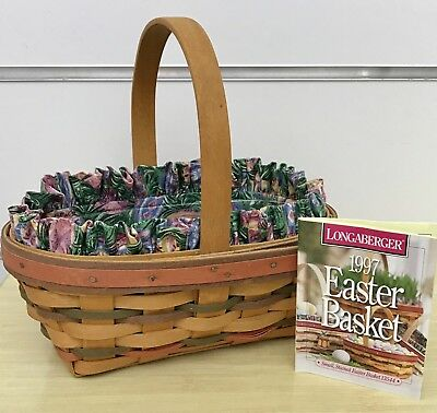 Longaberger Small Easter Basket Combo 1997
