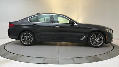 2018 BMW 5-Series 530i 530i 5 Series New 4 dr Sedan Automatic Gasoline 2.0L 4 Cyl Dark Graphite Metalli
