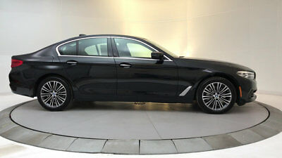 2018 BMW 5-Series 540i 540i 5 Series New 4 dr Sedan Automatic Gasoline 3.0L Straight 6 Cyl Black Sapphi