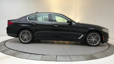 2018 BMW 5-Series 530i 530i 5 Series New 4 dr Sedan Automatic Gasoline 2.0L 4 Cyl Black Sapphire Metall