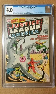 Brave and the Bold #28 (1960), CGC 4.0, 1st appearance of the Justice League!