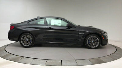 2018 BMW M4  New 2 dr Coupe Manual Gasoline 3.0L STRAIGHT 6 Cyl Black Sapphire Metallic