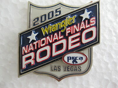 2005 National Finals Rodeo Wrangler PFCA Las Vegas Hat Pin