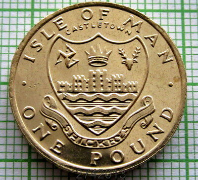 Isle Of Man 1984 Aa Pound, Manx Towns Series - Castletown, Unc
