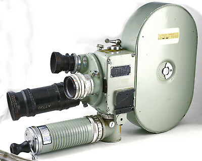 Bell & Howell SILENT 35mm USAF MILITARY MOTION PICTURE CAMERA TYPE A-6A   RARE!