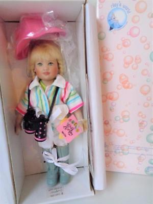 "2005 Helen Kish Explorer Riley 7.5"" Doll Mint in Box Vinyl Artist Doll"